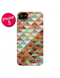 Coque Love Pattern Triangle pour iPhone 5 et 5S - Maximilian San
