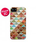 Coque Love Pattern Triangle pour iPhone 5C - Maximilian San