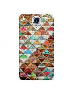 Coque Love Pattern Triangle pour Samsung Galaxy S4 - Maximilian San