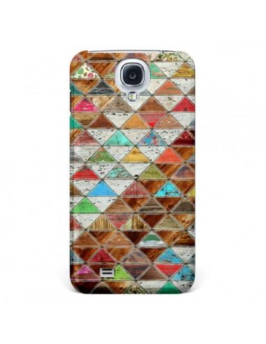 Coque Love Pattern Triangle pour Samsung Galaxy S4 - Maximilian San
