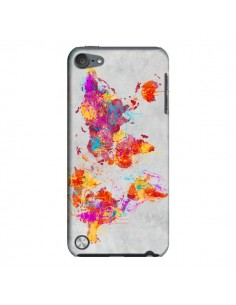 Coque Terre Map Monde Mother Earth Crying pour iPod Touch 5 - Maximilian San