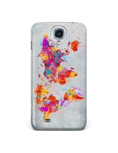 Coque Terre Map Monde Mother Earth Crying pour Samsung Galaxy S4 - Maximilian San