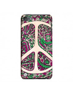 Coque Peace and Love Azteque Vainilla pour iPod Touch 5 - Maximilian San