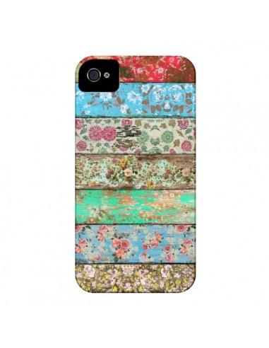 Coque Rococo Style Bois Fleur pour iPhone 4 et 4S - Maximilian San