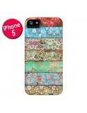 Coque Rococo Style Bois Fleur pour iPhone 5 et 5S - Maximilian San