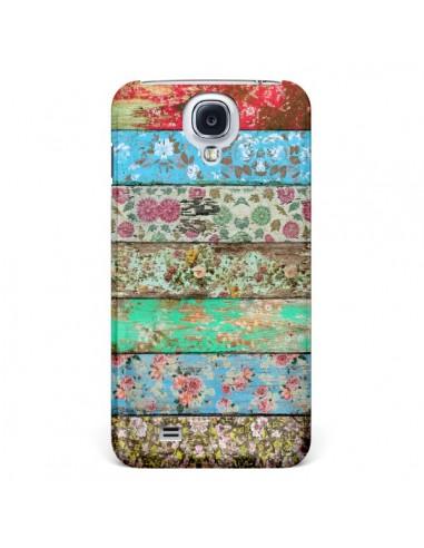 Coque Rococo Style Bois Fleur pour Samsung Galaxy S4 - Maximilian San