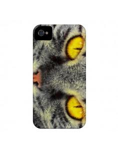 Coque Chat Gato Loco pour iPhone 4 et 4S - Maximilian San