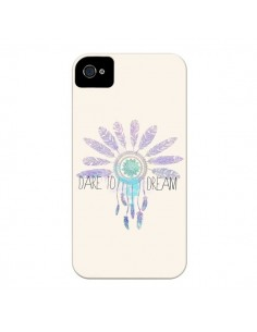 Coque Dare To Dream - Osez Rêver pour iPhone 4 et 4S - Sara Eshak