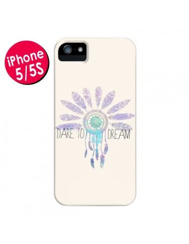 Coque Dare To Dream - Osez Rêver pour iPhone 5 et 5S - Sara Eshak