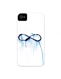 Coque Forever You and Me Love pour iPhone 4 et 4S - Sara Eshak