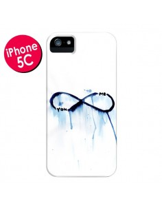 Coque Forever You and Me Love pour iPhone 5C - Sara Eshak