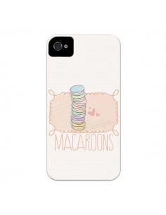 Coque Macaron Gateau pour iPhone 4 et 4S - Sara Eshak