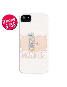 Coque Macaron Gateau pour iPhone 5 et 5S - Sara Eshak