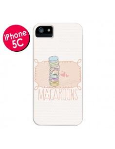 Coque Macaron Gateau pour iPhone 5C - Sara Eshak