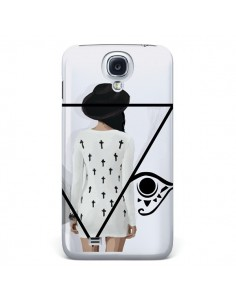Coque Confusion Femme Oeil Triangle pour Samsung Galaxy S4 - Sara Eshak