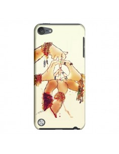Coque Peace and Love pour iPod Touch 5 - Sara Eshak