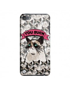Coque Chat Grumpy Cat - You Suck pour iPod Touch 5 - Sara Eshak