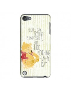 Coque Winnie I do nothing every day pour iPod Touch 5 - Sara Eshak