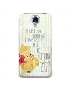 Coque Winnie I do nothing every day pour Samsung Galaxy S4 - Sara Eshak