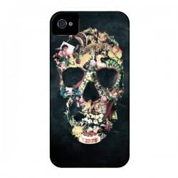 Coque Skull Vintage Tête de Mort pour iPhone 4 et 4S - Ali Gulec