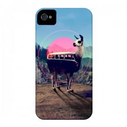 Coque Llama pour iPhone 4 et 4S - Ali Gulec