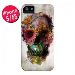 Coque Skull Flower Tête de Mort pour iPhone 5 - Ali Gulec