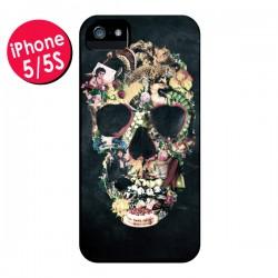 Coque Skull Vintage Tête de Mort pour iPhone 5 - Ali Gulec