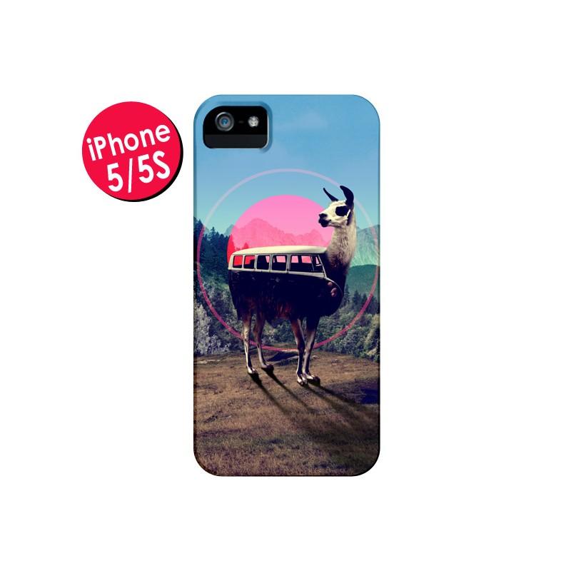 Coque Llama pour iPhone 5 - Ali Gulec