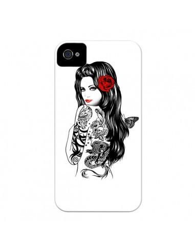Coque Tattoo Girl Lolita pour iPhone 4 et 4S