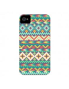 Coque Azteque Navahoy pour iPhone 4 et 4S - Rachel Caldwell