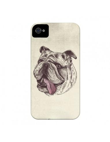 Coque Chien Bulldog pour iPhone 4 et 4S