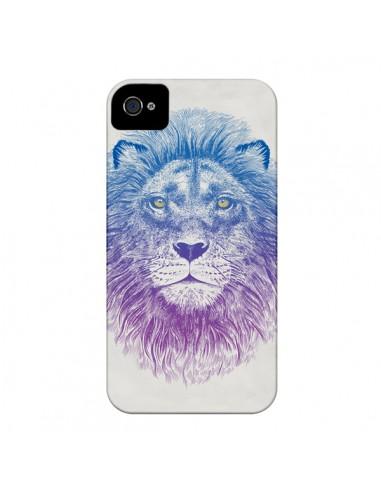 Coque Lion pour iPhone 4 et 4S