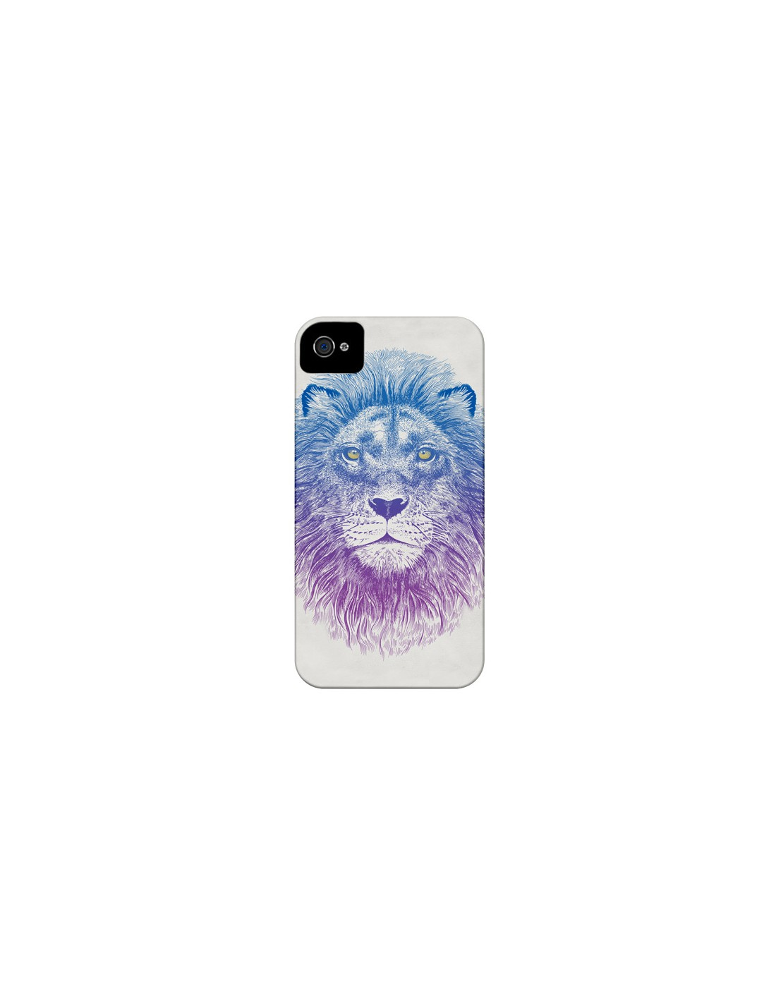 coque lion pour iphone 4 et 4s. Black Bedroom Furniture Sets. Home Design Ideas