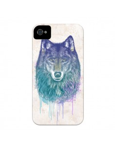 Coque Loup pour iPhone 4 et 4S - Rachel Caldwell
