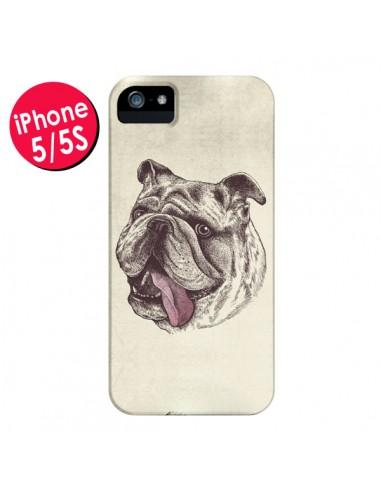 Coque Chien Bulldog pour iPhone 5