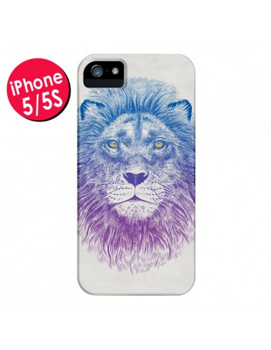 Coque Lion pour iPhone 5