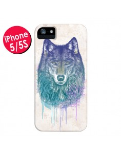 Coque Loup pour iPhone 5