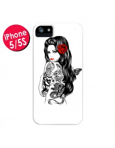 Coque Tattoo Girl Lolita pour iPhone 5