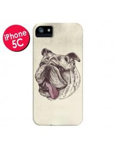 Coque Chien Bulldog pour iPhone 5C - Rachel Caldwell