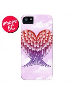 Coque Ailes d'ange Amour pour iPhone 5C - Rachel Caldwell