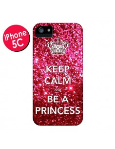 Coque Keep Calm and Be a Princess pour iPhone 5C - Nico