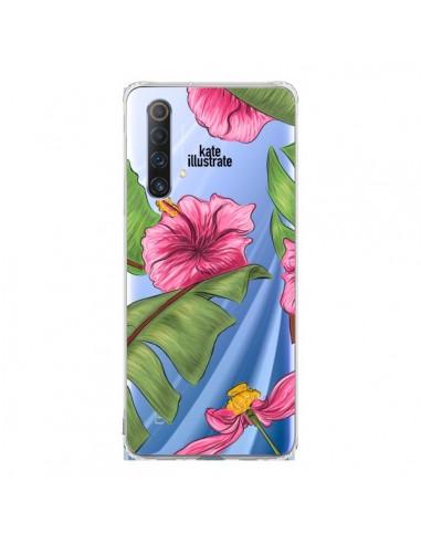 Coque Realme X50 5G Tropical Leaves...
