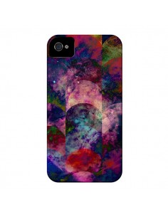 Coque Abstract Galaxy Azteque pour iPhone 4 et 4S - Eleaxart