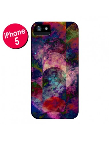 Coque Abstract Galaxy Azteque pour iPhone 5 et 5S - Eleaxart