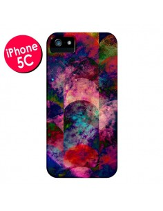 Coque Abstract Galaxy Azteque pour iPhone 5C - Eleaxart