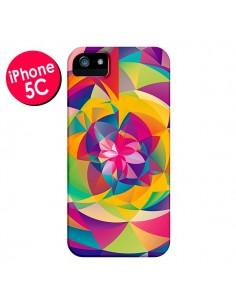 Coque Acid Blossom Fleur pour iPhone 5C - Eleaxart