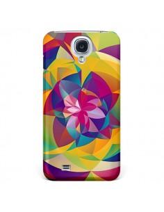 Coque Acid Blossom Fleur pour Galaxy S4 - Eleaxart