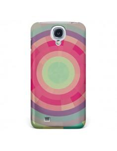 Coque Spirale de Couleurs Rose Vert pour Galaxy S4 - Eleaxart