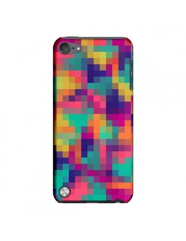 Coque Exotic Mosaic Pixels Azteque pour iPod Touch 5 - Eleaxart