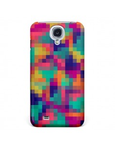 Coque Exotic Mosaic Pixels Azteque pour Galaxy S4 - Eleaxart